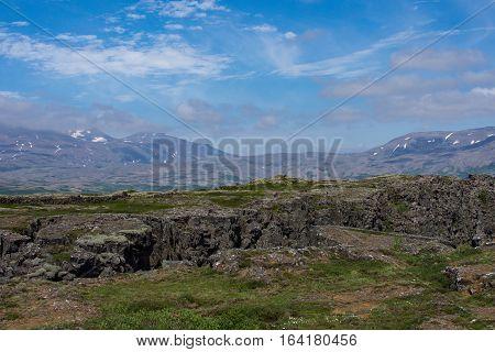 Thingvellir National Park part of Golden Circle Tour Iceland Europe