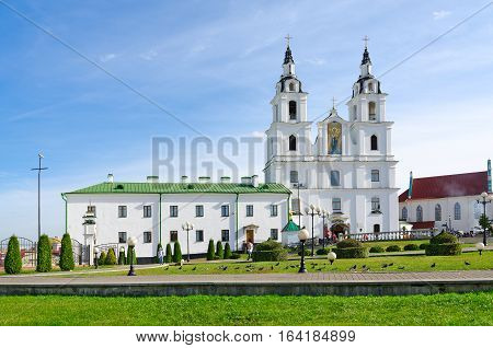 Cathedral of Descent of Holy Ghost (Holy Spirit Cathedral) Minsk Belarus