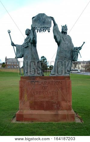 Statue of the Declaration of Arbroath, 1320