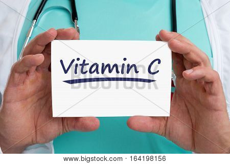 Vitamin C Vitamins Healthy Eating Lifestyle Doctor Health
