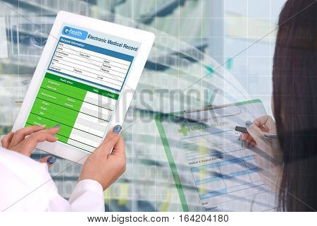 Transformation of medical record technology to electronic information and computer technology.
