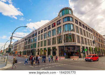 Mall Of Berlin In Berlin, Germany