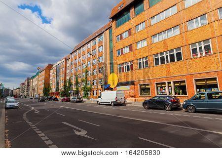 Street View Of Wilhelmstrasse, Berlin, Germany