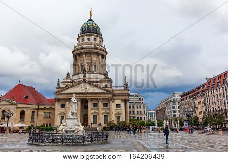 French Cathedral At Gendarmenmarkt, Berlin
