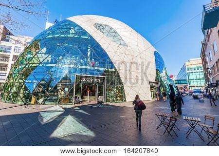 Modern Architecture In Eindhoven, Netherlands