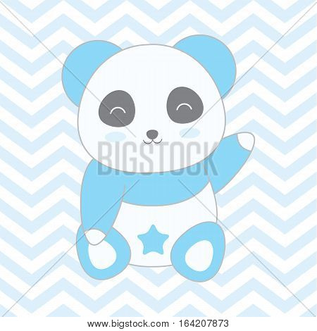 panda, birthday, card, cute, vector, baby, happy, love, holiday, set, background, illustration, cartoon, shower, celebration, animal, party, kid, invitation, design, gift, greeting, color, abstract, bear, fun, child, surprise, day, character, sketch, art,
