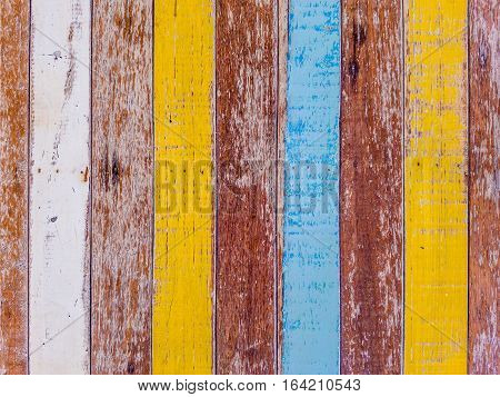 abstract grunge wood texture background / Wood Texture with old paint colorful
