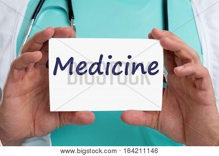 Medicine Diagnosis Disease Ill Illness Healthy Health Doctor