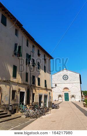 San Francesco Church In Lucca, Italy