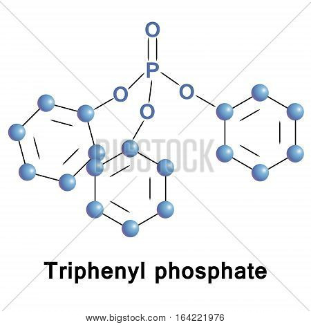 Triphenyl phosphate, TPhP, is the triester of phosphoric acid and phenol. It is used as a plasticizer and a fire retardant in a wide variety of settings and products.