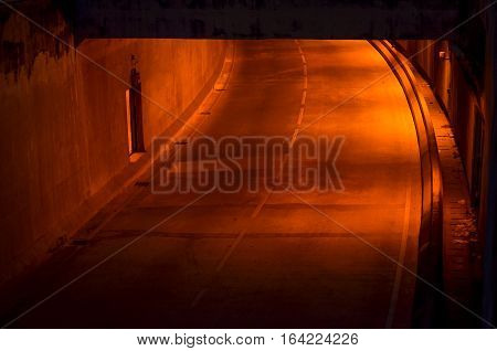 Tunnel Traffic Tunnel Traffic Concrete Highway Asia