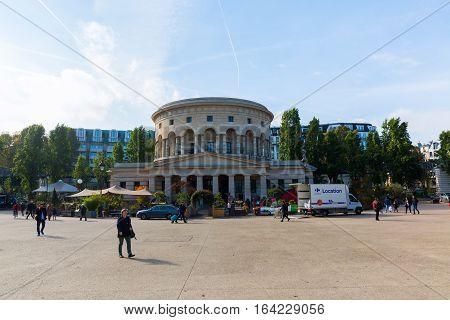 Rotonde De La Villette In Paris, France