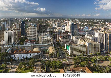 Nairobi City Hall And Northern Business District, Kenya
