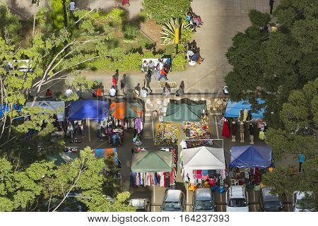 Clothing Market In Central Nairobi, Kenya, Editorial