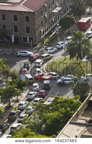 Nairobi Rush Hour, Kenya, Editorial