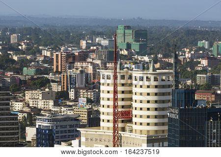 Nairobi Nation House, Kenya, Editorial