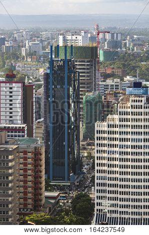 Nairobi I&m Bank Building, Kenya, Editorial