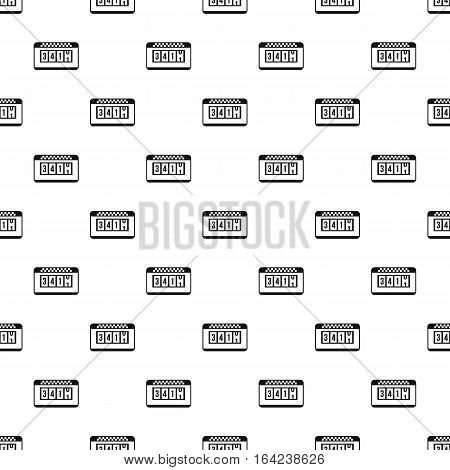 Taximeter pattern. Simple illustration of taximeter vector pattern for web
