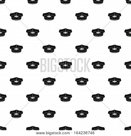 Cap taxi driver pattern. Simple illustration of cap taxi driver vector pattern for web