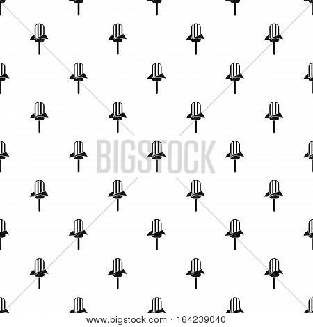 Ice lolly pattern. Simple illustration of ice lolly vector pattern for web