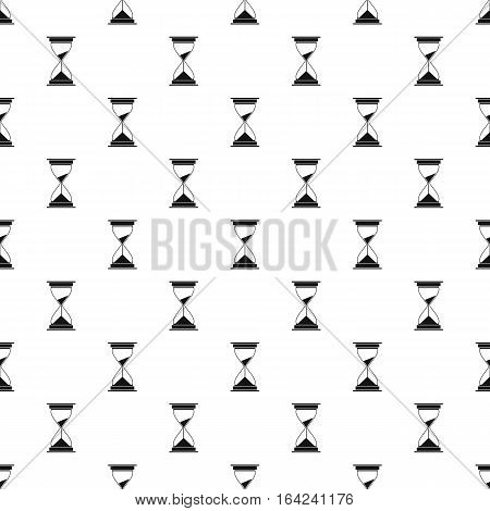 Hourglass pattern. Simple illustration of hourglass vector pattern for web