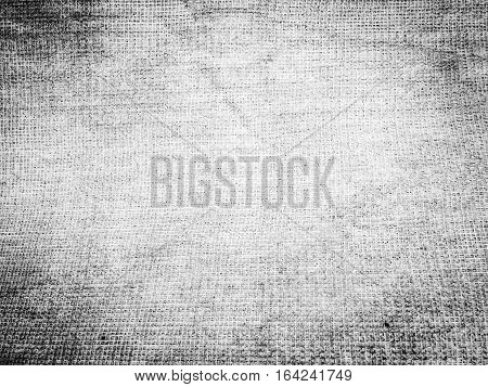 Old sackcloth woven texture pattern and background