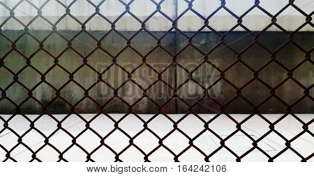 steel grating and door background photo stock