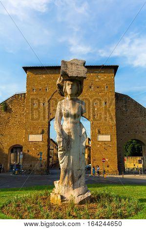 Statue At Piazzale Di Porta Romana, Florence