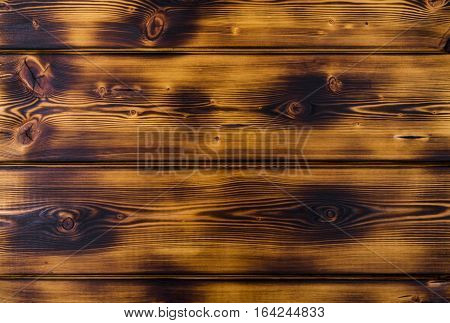 close up of Burnt wood texture background