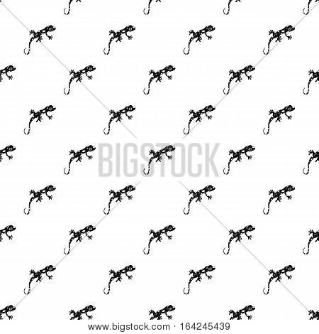 Spotted chameleon pattern. Simple illustration of spotted chameleon vector pattern for web
