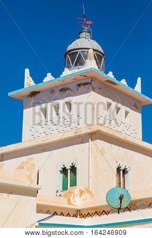 Lighthouse On The Coast Of Sidi Ifni