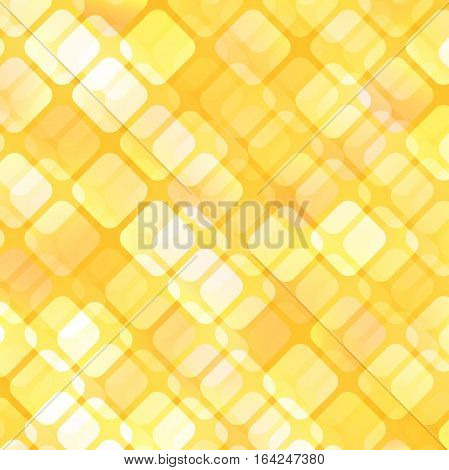 Abstract sunshiny geometric background for your design. Bright wallpaper. Vector illustration