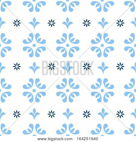 Seamless repeating vintage background for textile design.  fabric textures are individual objects baroque pattern stock vector