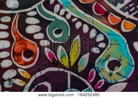 Tadpoles And Whitebaits, Fragment, Hot Batik