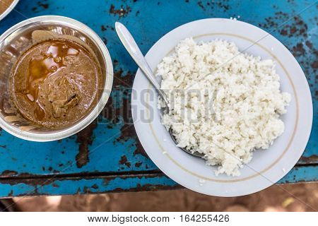 Rice And Peanut Butter