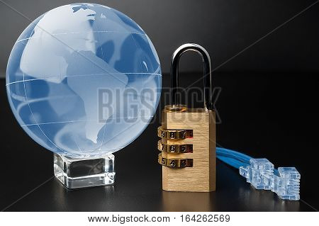 The Concept Of The World Wide Web. Security Network.