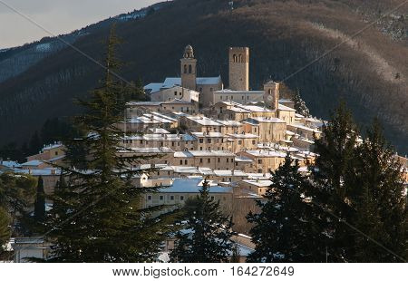 Nocera Umbra is one of the most medieval italian village