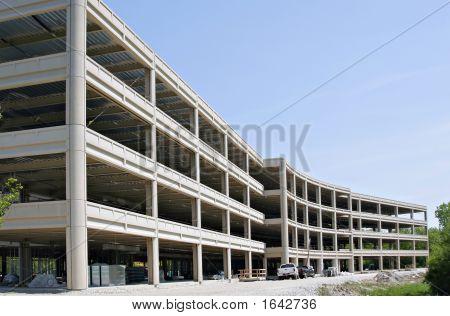 Commercial Building Under Construction