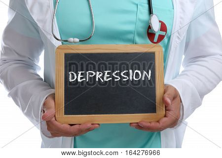 Depression Depressed Burnout Ill Illness Healthy Health Young Doctor