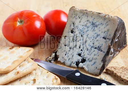 Wedge Of Blue Cheese