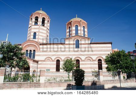 St. Nicholas christian orthodox church in Batumi,Georgia,Caucasus.It is 150 years old and one of the oldest temples in the city