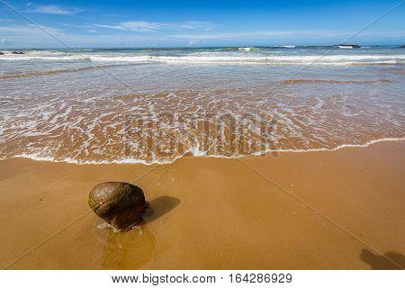 Legzira Beautiful Beach In Morocco