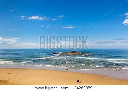 Sand Beach In Sidi Ifni, Morocco