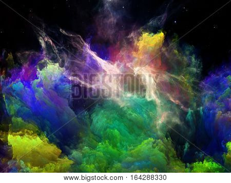 Vision Of Space Nebula