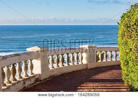 Over The Beach Of Sidi Ifni In Morocco
