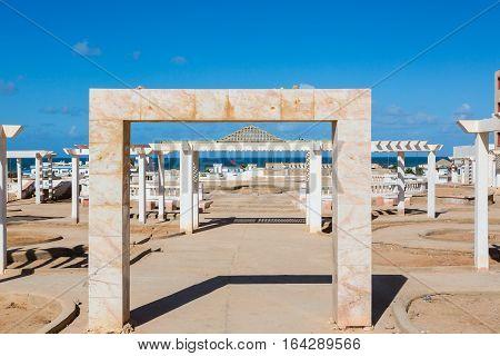 El Ouatia On The Southwestern Coast Of Morocco
