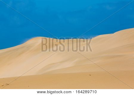 Sand Dunes Of Oued Chbika Plage, Morocco