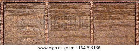 Brick Fence Texture