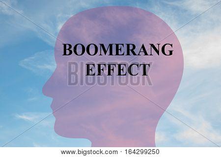 Boomerang Effect Concept