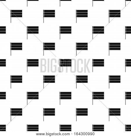 Flag of Netherlands pattern. Simple illustration of flag of Netherlands vector pattern for web